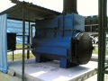 Surefire SF200 General Waste incinerator on a hardstanding