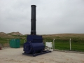 Surefire SF200 General Waste Incinerator skid mounted