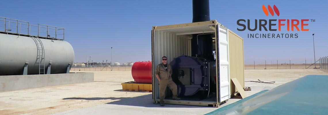 Surefire-containerised-solid-waste-incinerator-for-camp-waste