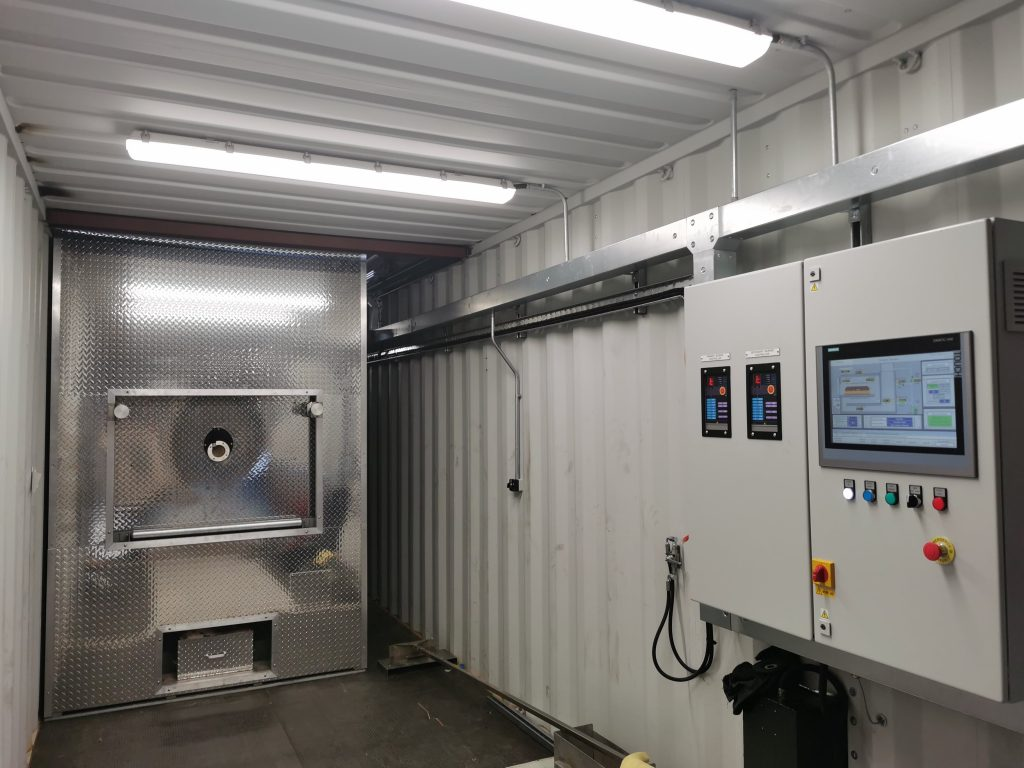 Emergency Containerized Cremation System